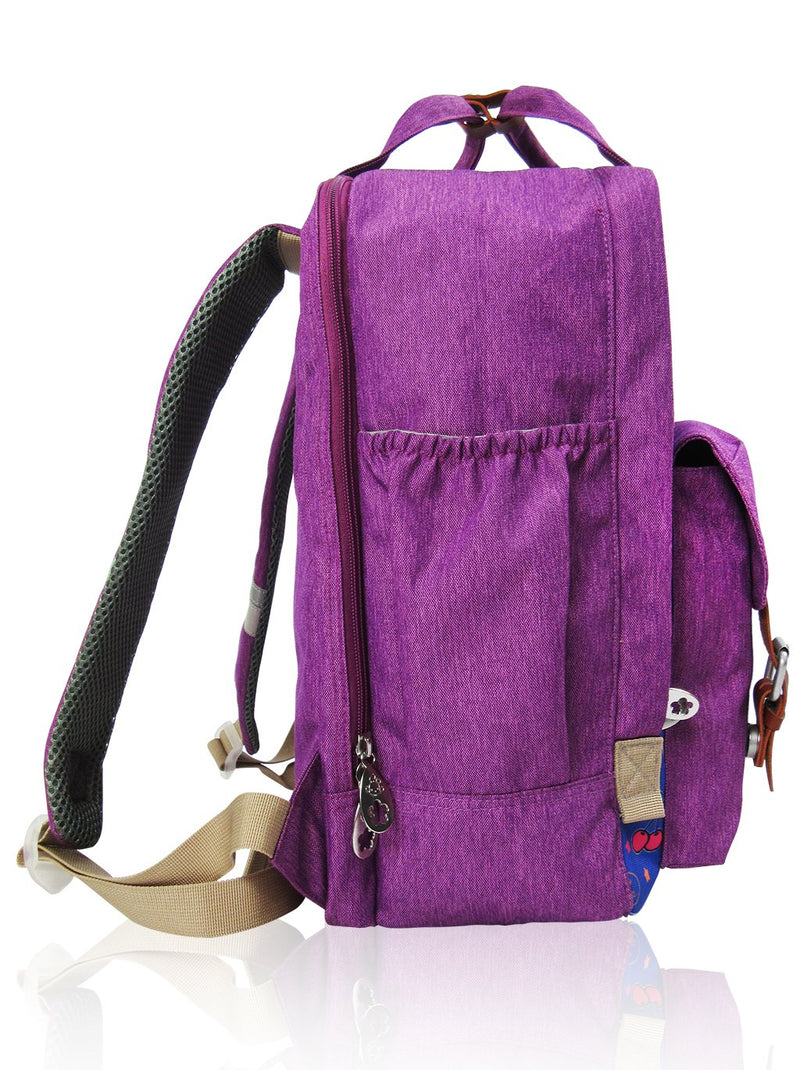 Love Magic - 15in Backpack (Purple)