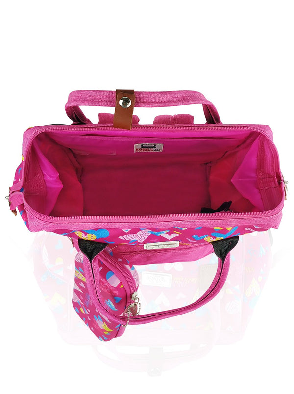 Love Magic Hinge Clasp - 16in Backpack (Pink)