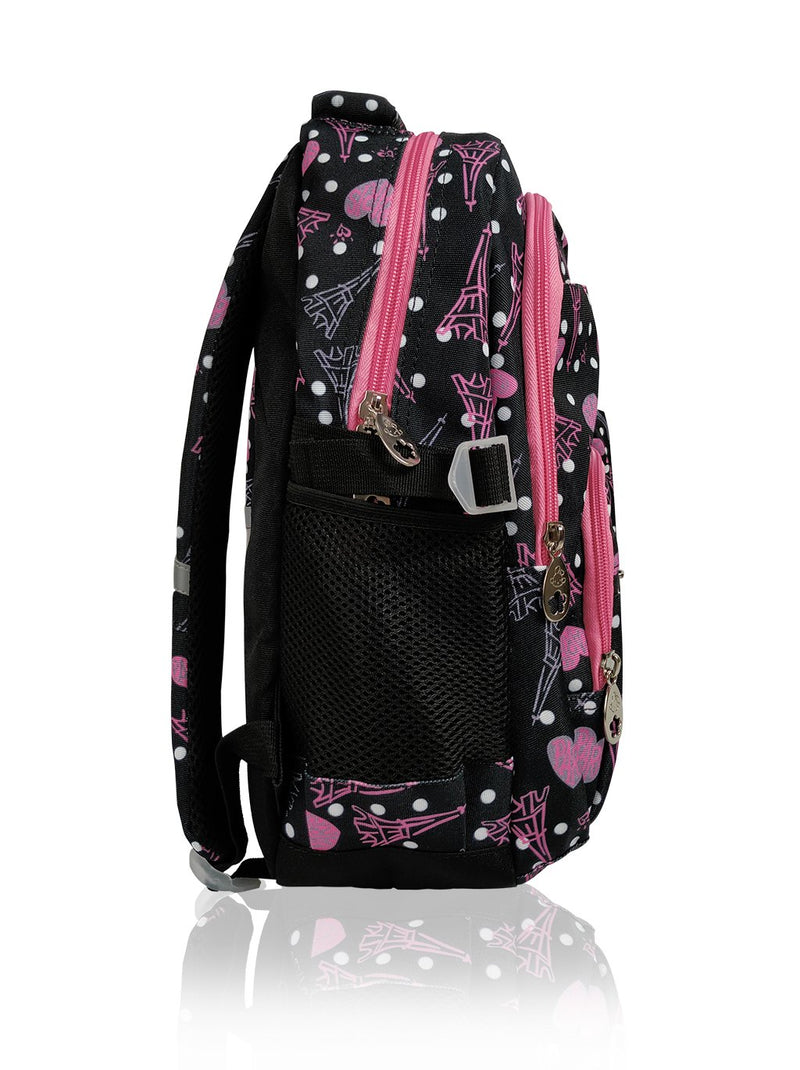 Paris Catwalk - 16.5in Backpack (Black)