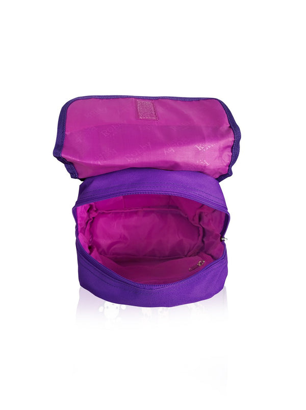 Flower Power - 10in Backpack (Purple)