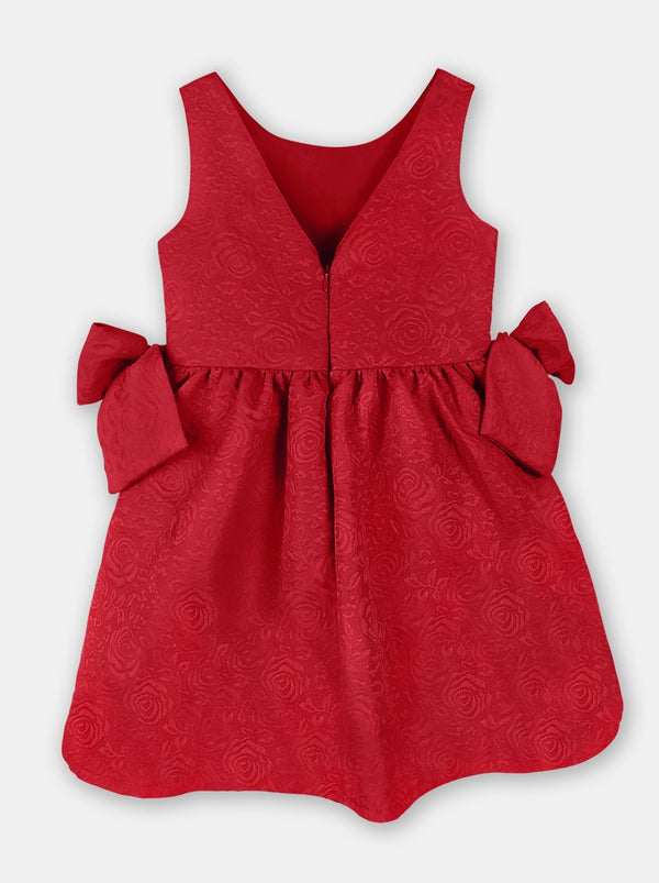 Refined Bows (Red)  - Robby Rabbit Girls