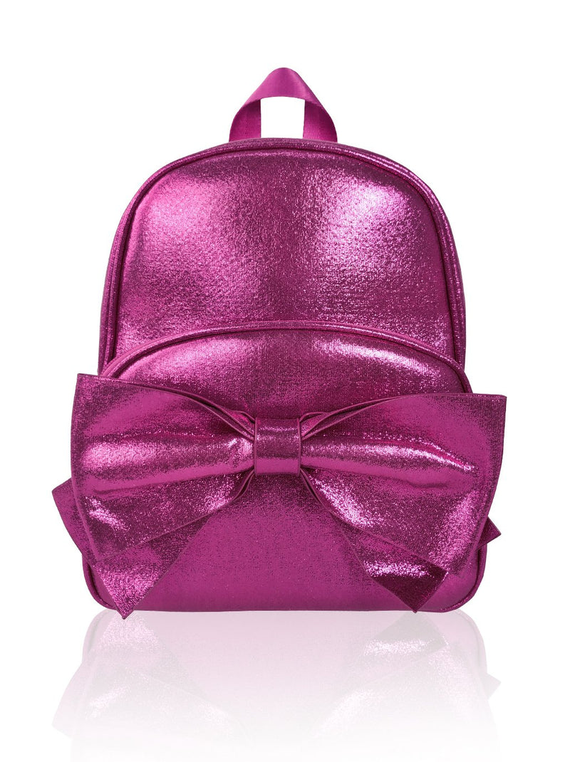 Sassy Bows - 10in Backpack (Fuchsia)  - Robby Rabbit Girls