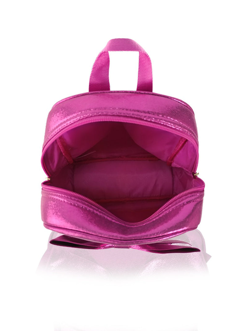 Sassy Bows - 10in Backpack (Fuchsia)