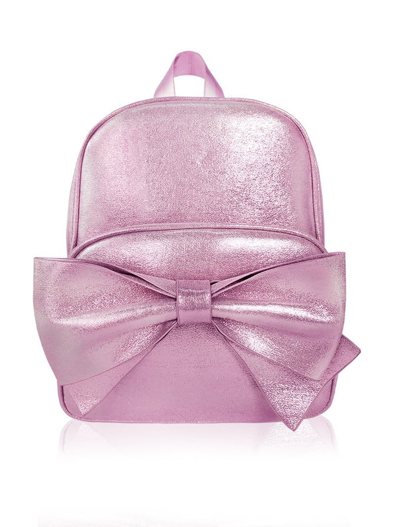 Sassy Bows - 10in Backpack (Pink)  - Robby Rabbit Girls