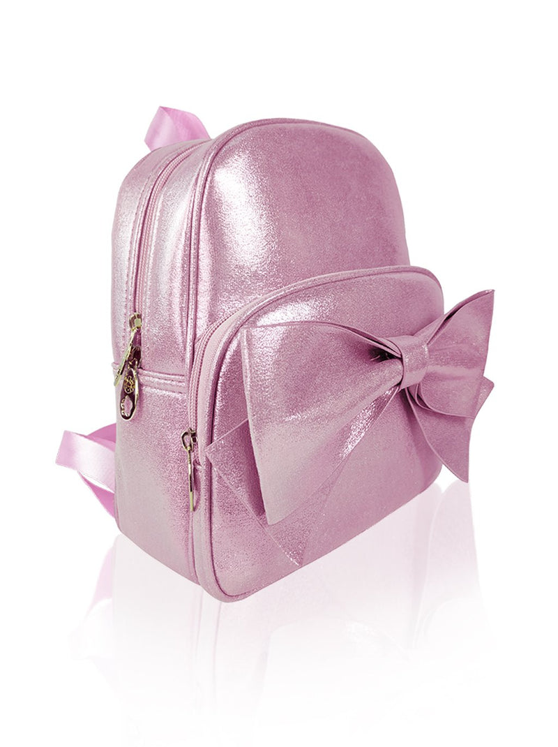 Sassy Bows - 10in Backpack (Pink)