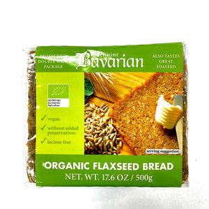 Schluender Bavarian Organic Flexseed Bread