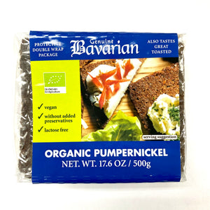 Schluender Bavarian Organic Pumpernickel Bread