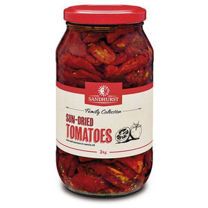 Sundried Tomato in Sunflower Oil