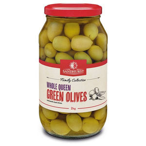 Queen Green Olives