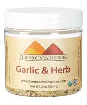 Organic Garlic and Herb Seasoning Blend
