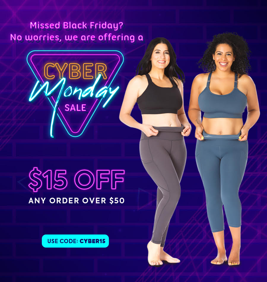 Love & Fit Cyber Monday Sale Banner Mobile