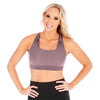 Athena 2.0 Nursing Sports Bra - Dusty Lilac
