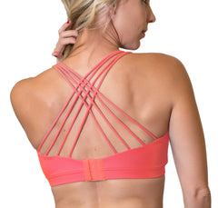 Strappy Back Nursing Sports Bra