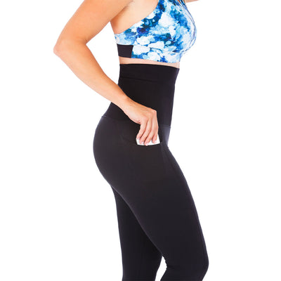 Ultra High Postpartum Leggings - Black