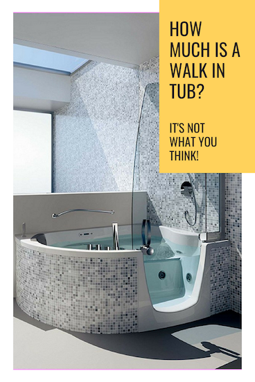 Guide: How Much Is a Walk In Tub? (It's not what you think)