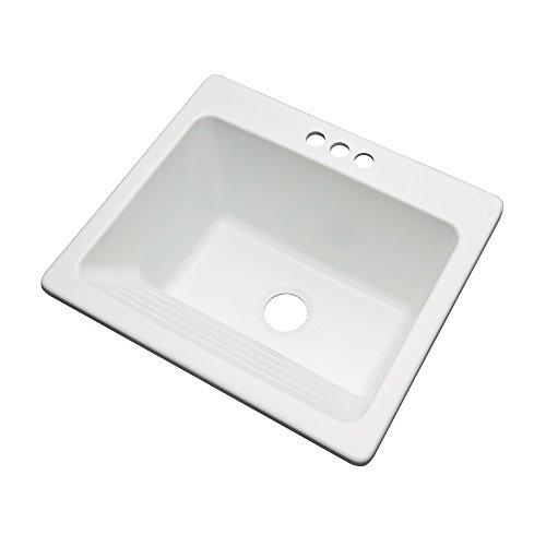 Dekor Sinks 31300 Richfield Cast Acrylic Single Bowl Utility Sink 3