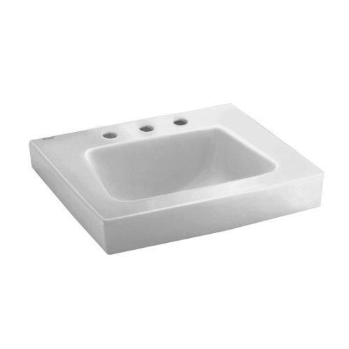 American Standard 0194.431.020 Roxalyn Wall-Hung Lavatory 8-Inch Center Set...