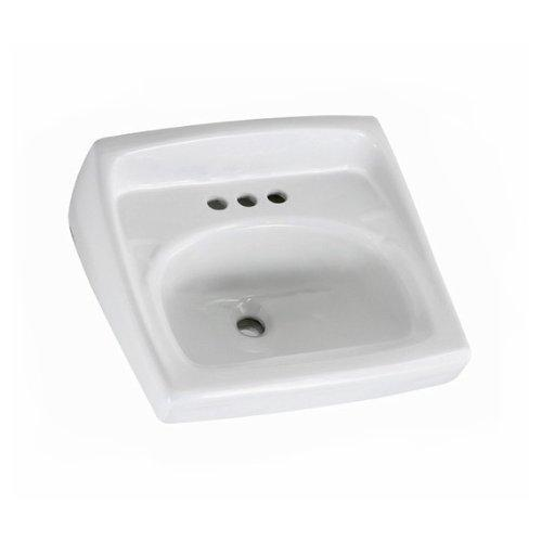 American Standard 0356.066.020 Lucerne Wall-Hung Lavatory with Single Faucet...
