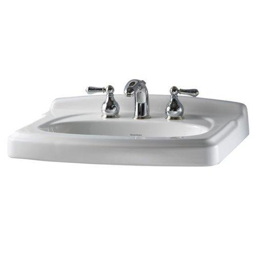 American Standard 0555.108.020 Townsend Pedestal Sink Top with 8-Inch...
