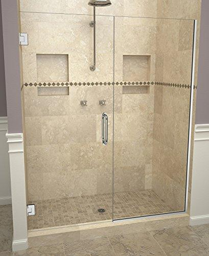 "Tile Redi USA 20VCPNP04776 Redi Swing Shower Door, 76"" H x 46-1/16-47"" W, Clear Glass"
