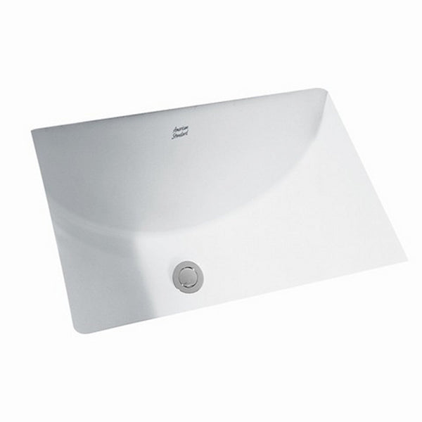 American Standard 0614.300.020 Studio 18 by 12-Inch Undercounter Sink, White
