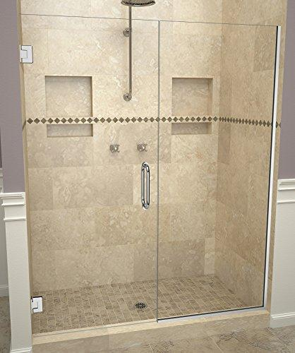 "Tile Redi USA 20VCPNP05976 Redi Swing Shower Door, 76"" H x 58-1/16-59"" W, Clear Glass"