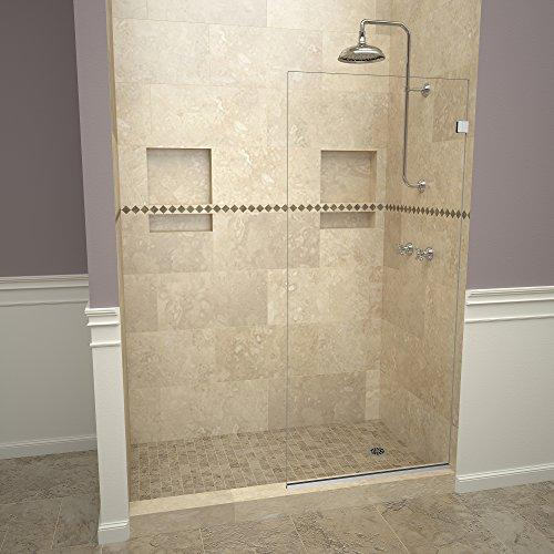 "Tile Redi USA 23VCPNF03676 Shower Screen, 76"" x 36"", Clear"