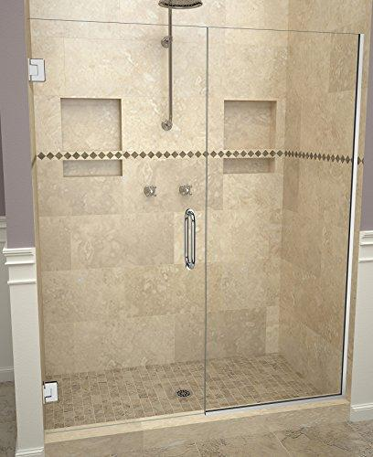 "Tile Redi USA 20VCPNP05872 Shower Door, 72"" H x 57-58"" W, Clear Glass"