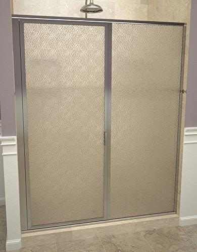 "Tile Redi USA 11ROPFP04669 Redi Swing Shower Door, 68-5/8"" H x 45-46"" W, Obscure Glass"