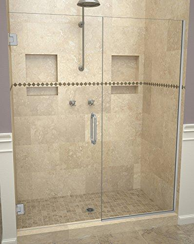 "Tile Redi USA 20VCBNP05872 Redi Swing Shower Door, 72"" H x 57-58"" W, Clear Glass"