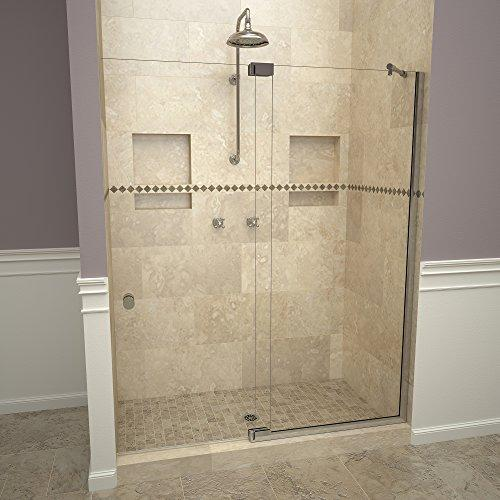 "Tile Redi USA 29VCPNP05476 Redi Swing Shower Door, 76"" x 48-1/16-54"", Clear Glass"