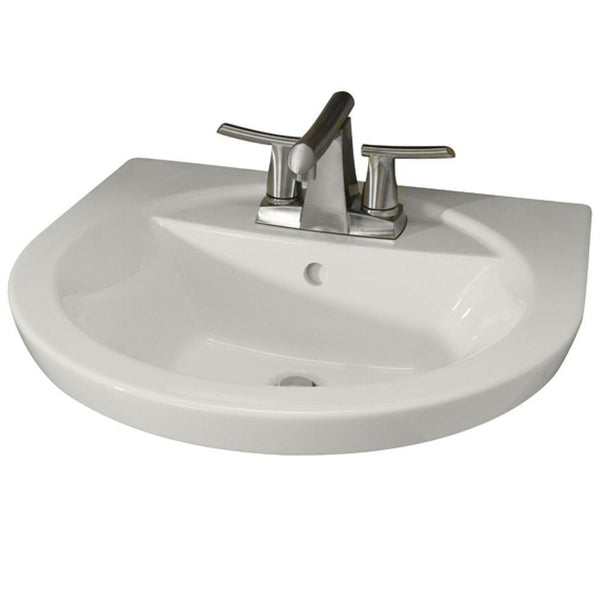 American Standard 0403.004.020 Tropic Petite 4-Inch Center Faucet Holes...