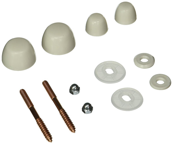 American Standard 034792-0200A Bolt Caps with Screws and Nuts, White