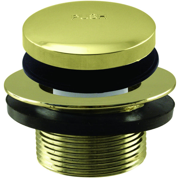 Westbrass Tip Toe 1-1/2 in. NPSM Coarse Thread Bath Drain