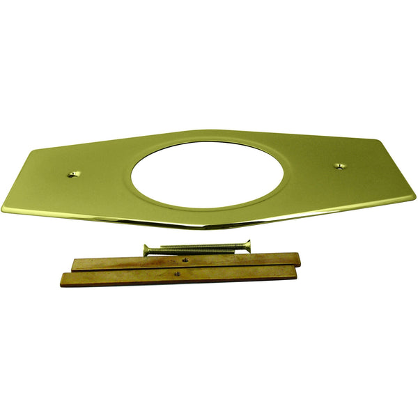 Westbrass One-Hole Remodel Plate for Moen and Delta