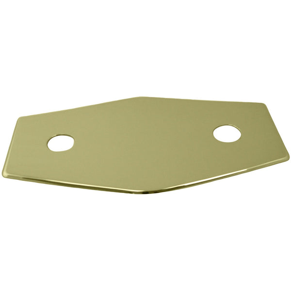 Westbrass Two-Hole Remodel Plate