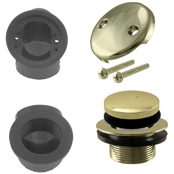 Westbrass Tip Toe Sch. 40 ABS Plumber's Pack with Two-Hole Elbow