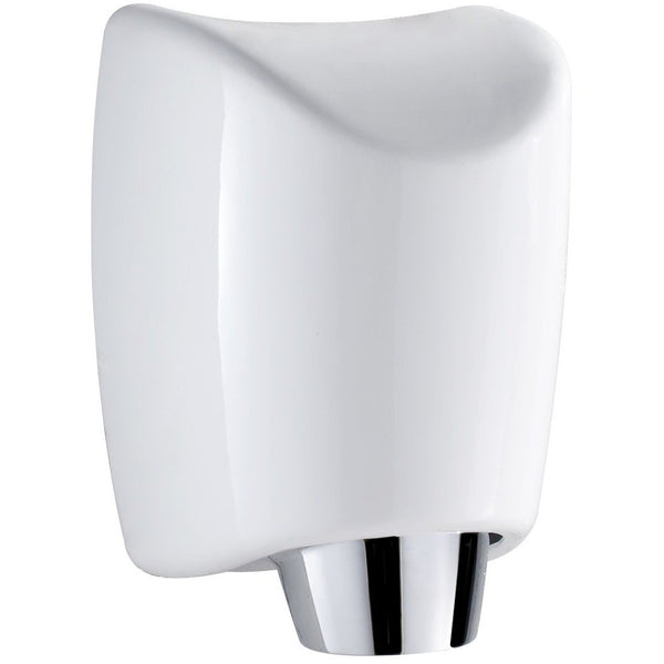 Whitehaus WH555-WHITE Hand Dryer Hands-free wall mount hand dryer