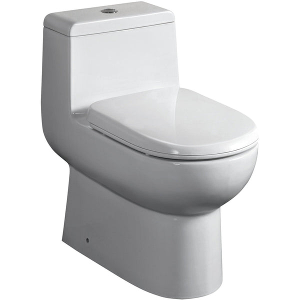 Whitehaus WHMFL3351-EB One piece dual flush eco-friendly toilet
