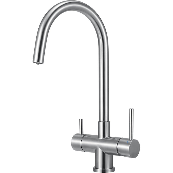 ALFI brand AB2042 Brushed/Polished Stainless Steel Kitchen Faucet/Drinking Water