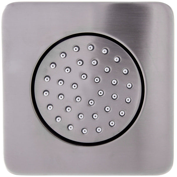 ALFI brand AB3801 Brushed Nickel/Polished Chrome Flush Mounted Shower Body Spray