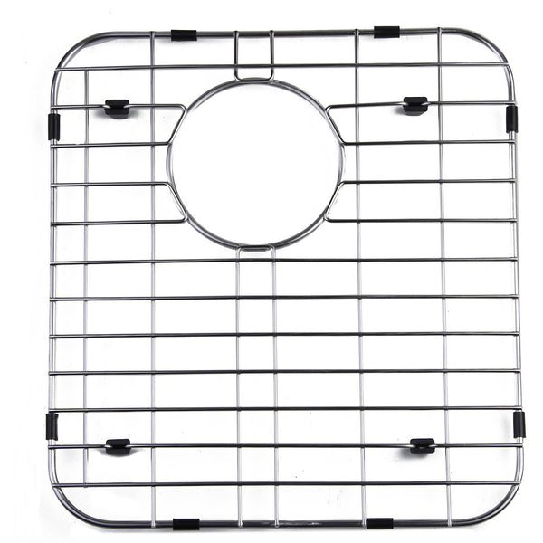 ALFI brand GR512R Right Solid Stainless Steel Kitchen Sink Grid for AB512 Kitchen Sink