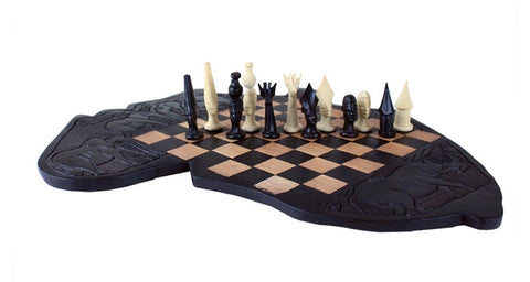 Africa Chess Board