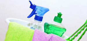Common Household Cleaners Linked to Indoor Air Pollution