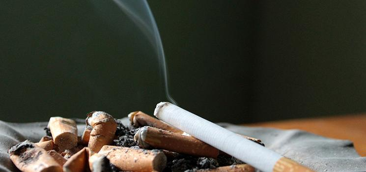 How to get rid of cigarette smoke odour indoors