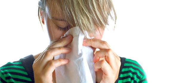 Hay fever relief starts at home