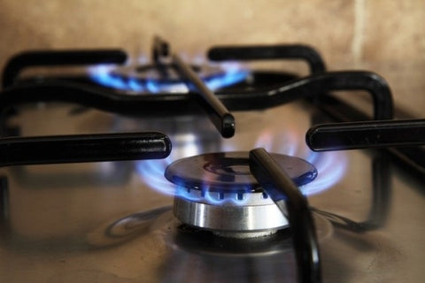 Gas stove running