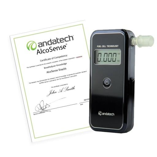 AlcoSense Stealth Online Training-Breathalyser Accessories-Andatech