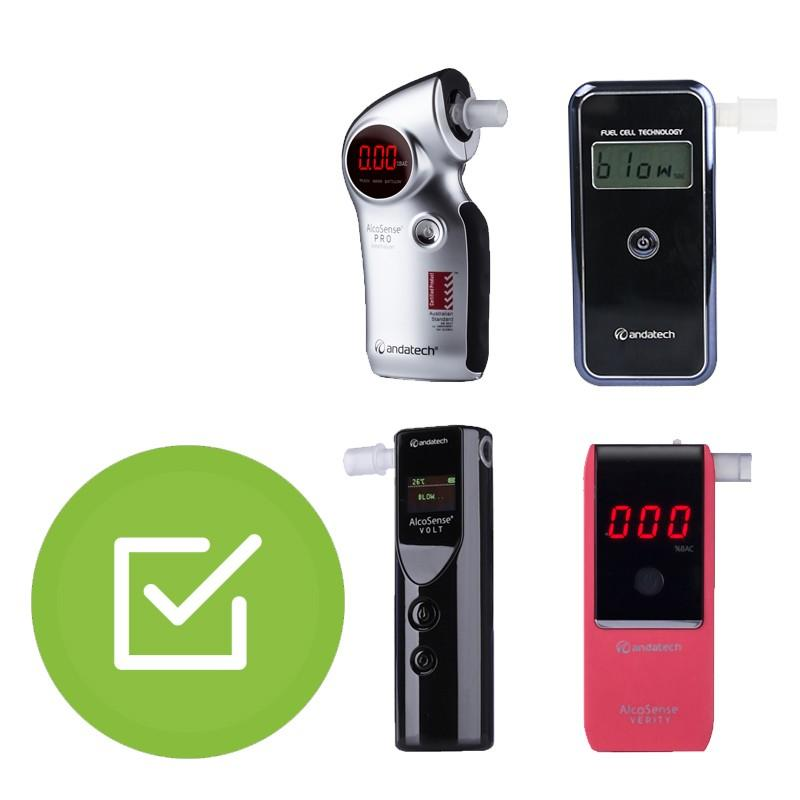 Calibration Management For Personal Breathalysers-Breathalyser Accessories-Andatech