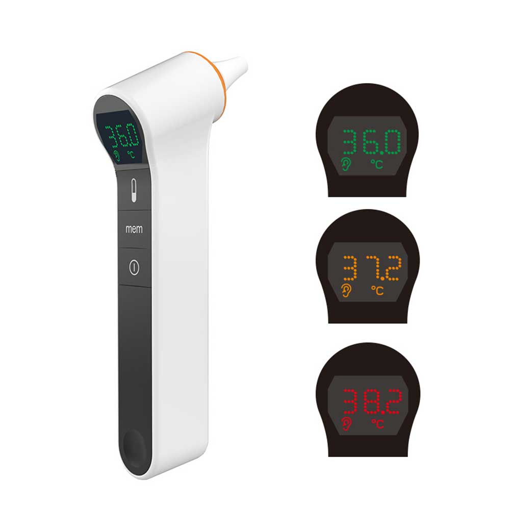 MedSense Infrared Forehead and Ear Thermometer TFE02-Thermometer-Andatech